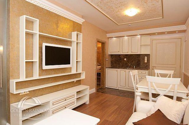 Апарт-отель Голден Рейнбоу Бийч - Апартамент с 1 спальней